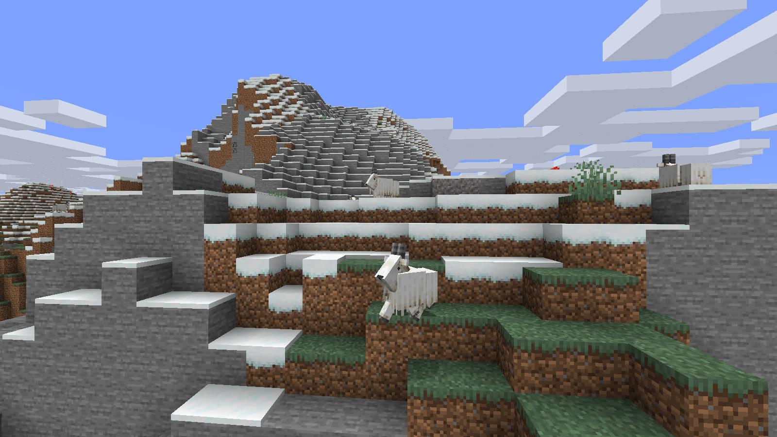 minecraft kozy góry